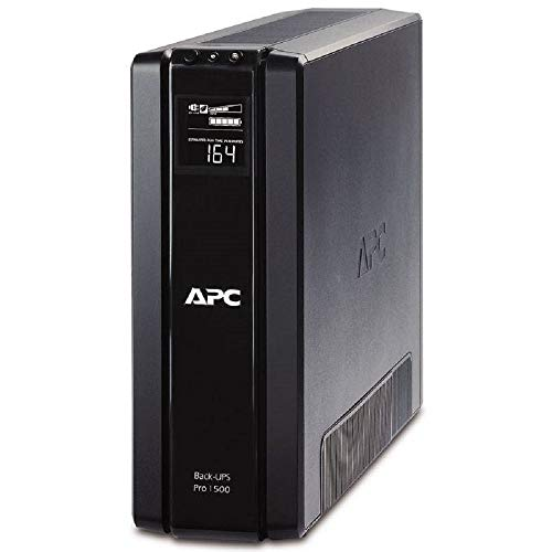 APC 1500VA UPS Battery Backup & Surge Protector with AVR, Back-UPS Pro...