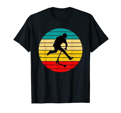 Homme Cool Scooter Rider Stunt design vintage trotinette T-Shirt