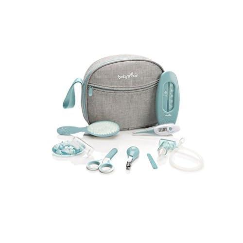 Babymoov - Trousse de Soin Bébé Compact 9 Accessoires Inclus, Bleu