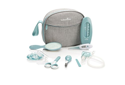 Babymoov Baby Healthcare and Grooming Set, Grey/Blue