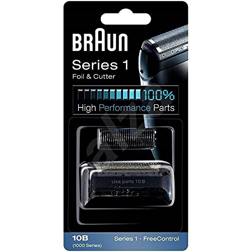 ShaverAid Electric Razor Screen Foil and Cutter Blade fits Braun Cruzer, 10b, 20b Shavers Gray