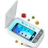Tooklanet UV Handy Sterilisator UV Desinfektionsbox Haushaltssterilisator Box UV Handy Sterilisator Aromatherapie Funktionsdesinfektionsgerät für iPhone Android Uhren