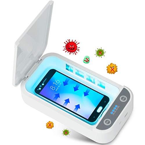 Tooklanet Sterilizzatore UV per Cellulare Scatola Disinfezione Ultravioletta Portatile...