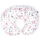 Minky Nursing Pillow Cover - Slipcover ONLY - Petal Slipcover - Best for Breastfeeding Moms - Soft Fabric Fits Snug On Infant Nursing Pillows to Aid Mothers While Breast Feeding