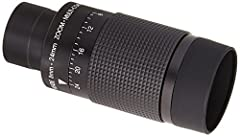 Gives the widest viewing field along with extra sharpness and long eye relief Low astigmatism, spherical aberration and off-axis color Includes a soft rubber eye guard and a custom fitted bayonet mount Folds down for the convenience of eyeglass weare...