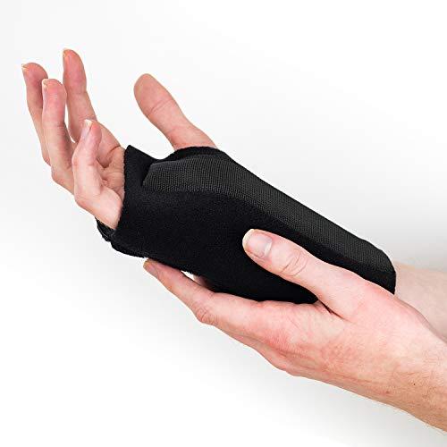 Actesso Fortgeschritten Plus Handgelenkschiene - Erleichterung für Karpaltunnel, Verstauchungen und Sehnenscheidenentzündung (S, Linke Hand Webbed)