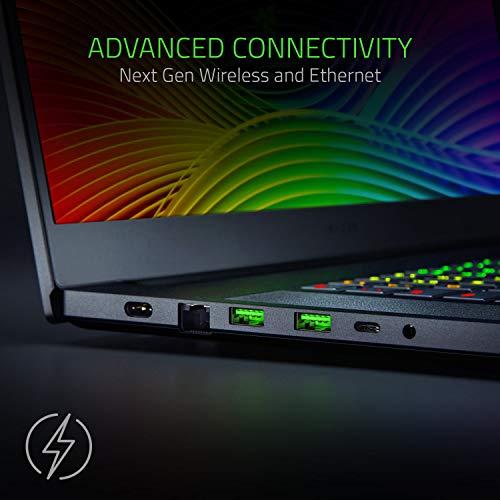 Razer Blade Pro 17 (17,3 Zoll Full-HD Display) Gaming Notebook (Intel Core i7-9750H, 16GB RAM, 512GB SSD, NVIDIA GeForce RTX 2080 Max-Q, Win 10, DE-Layout), schwarz