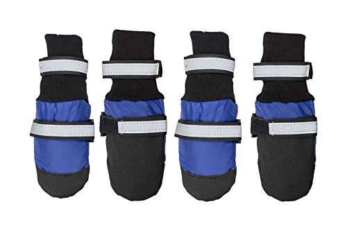 Dog Shoes Dog Boots Waterproof for Medium Dogs...