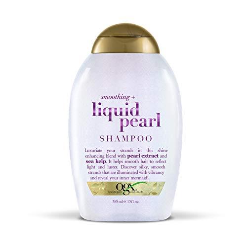OGX Smoothing + Liquid Pearl Shampoo, 13 Ounce