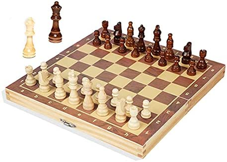quality assurance Wooden Classic Chess Set Folding Magnetic with Internal Storag Big Board