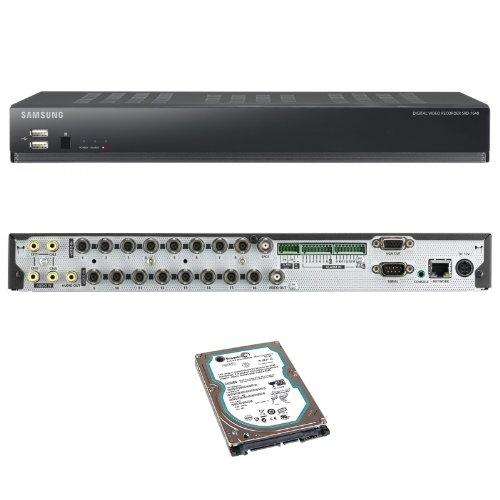 Samsung SRD-1640 CCTV Recorder 16 Kanal H.264 DVR mit 500 GB Festplatte Internetfähig