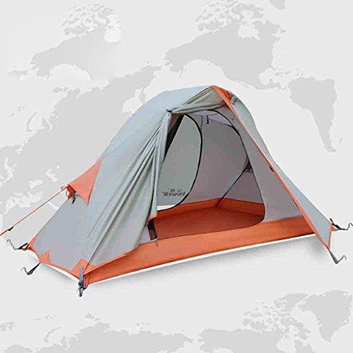 Couchette unique tente extérieure ultra-léger pluie équipement de camping tente de camping Double circonscription
