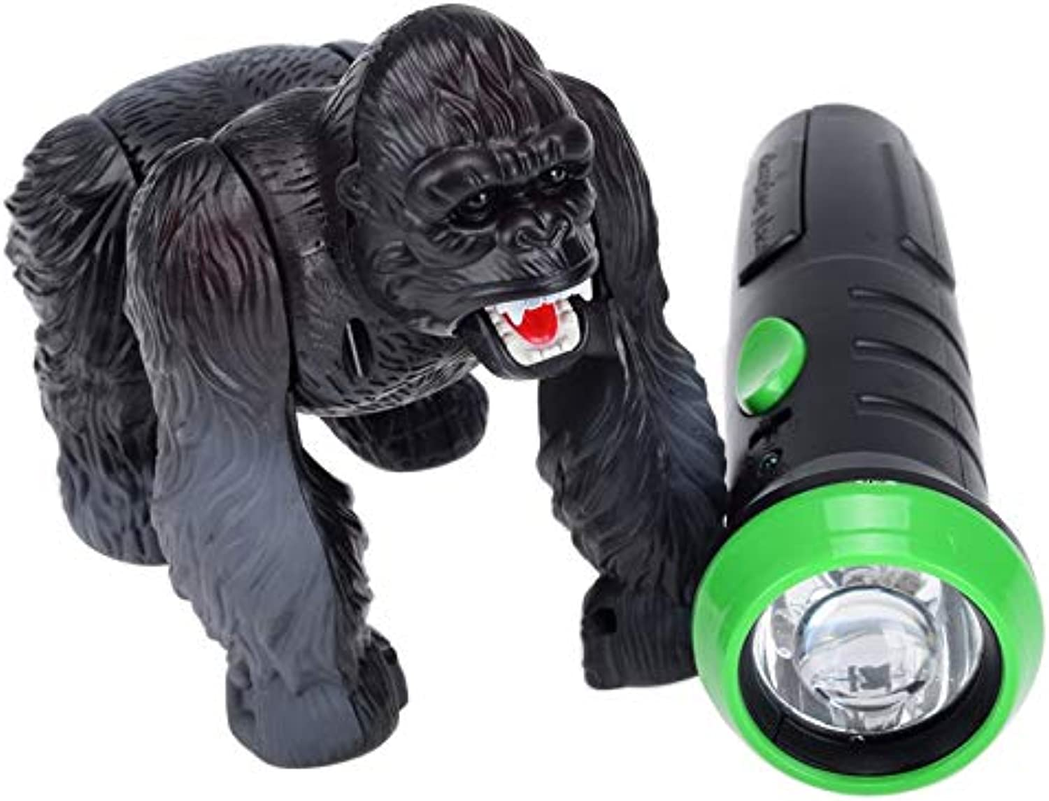 Generic Lighting Infrared RC Gorilla Simulative Remote Control Animal Electric Toy with Sound Funny Terrifying Christmas Kids Gift New
