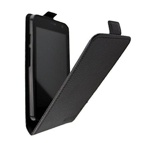 caseroxx Flip Cover für Archos Access 45 4G, Tasche (Flip Cover in schwarz)