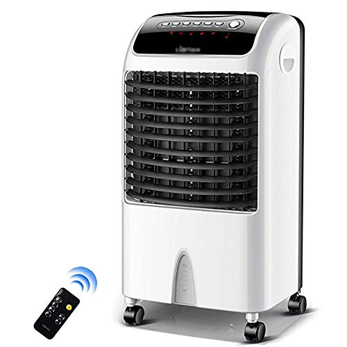 Air Cooler 10,000 BTU Portable Air Conditioner, Three-In-One Floor-Standing Air Conditioner, with Remote Control And LED Display, 3 Fan Speeds, 7.5 Hour Timer And 7 Liter Home Or Office Water Tank