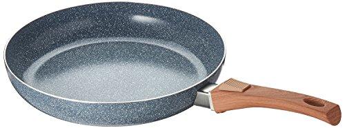 Bratmaxx Optik 28cm grau Keramik-Pfanne, Aluminium, Granit-Design, 28 cm