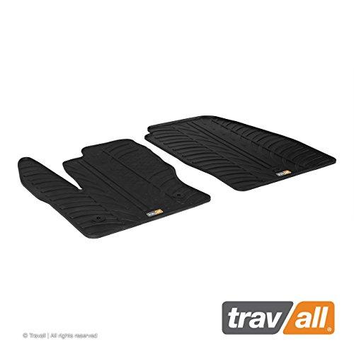 Travall Mats Tapis de Voiture Compatible avec Ford Transit Connect (2013 et Ulterieur) TRM1214 - Tapis de Sol en Caoutchouc sur Measure
