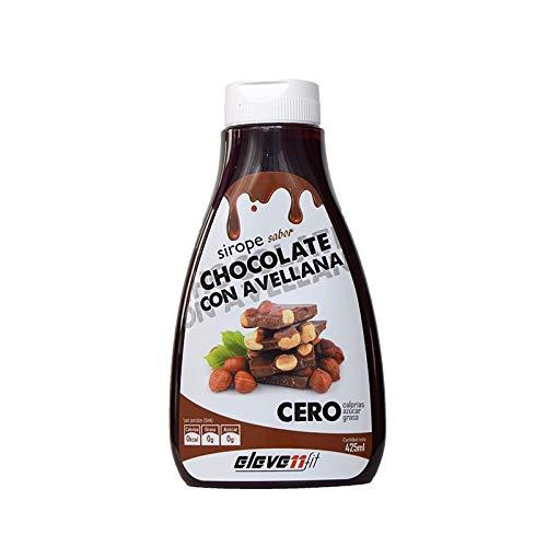 SIROPE SABOR CHOCOLATE Y AVELLANA SIN AZÚCAR 425ML