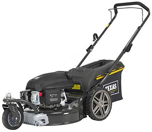 TEXAS Premium 4675W Benzin Rasenmäher Benzinrasenmäher Benzinmäher Trike 3 Räder