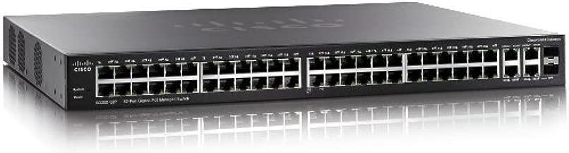 Cisco (SG300-52P-K9-NA) 52-Port Gigabit PoE Managed Switch