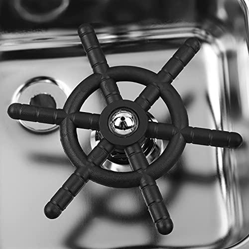 YOIM Lavadora de Tazas, Enjuagadora de Jarra de Vapor Profesional automática de Acero Inoxidable, Accesorios para Fregadero Lavadora de Tazas, para Bar Hotel Café Leche Taza de té