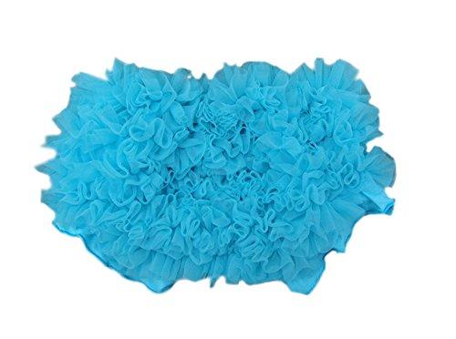 DELEY DELEY Baby Mädchen Solide Lace Kleid Rüsche Hose Pumphose Windel Decken Blau S