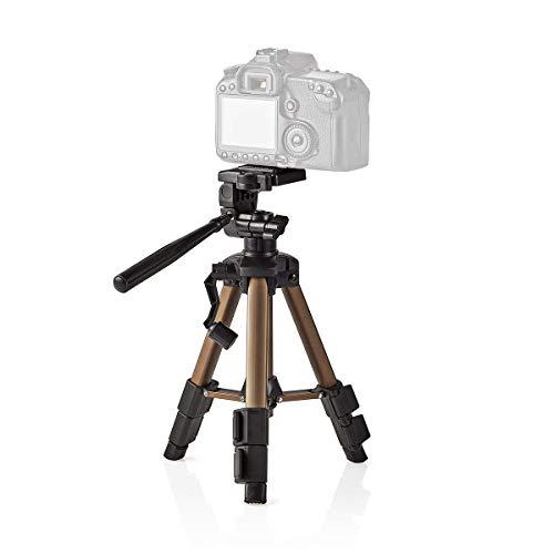 TronicXL 30-60cm Tripod Tisch Stativ für Kamera höhenverstellbar I DSLR I Webcam I Kamerastativ kompatibel mit Logitech Samsung Sony Nikon Canon I Tischstativ I Panoramakopf I Kurbelstativ Streaming