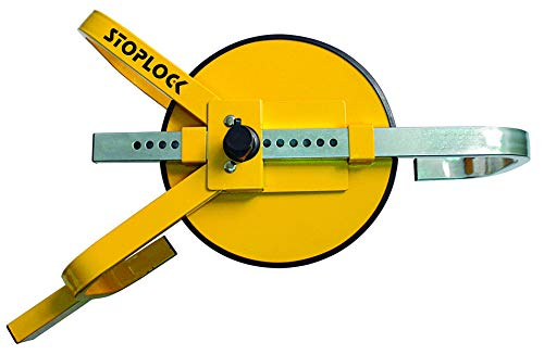 Stoplock HG 400-00 Wheel Clamp - Bloqueo de Rueda Ajustable, 13
