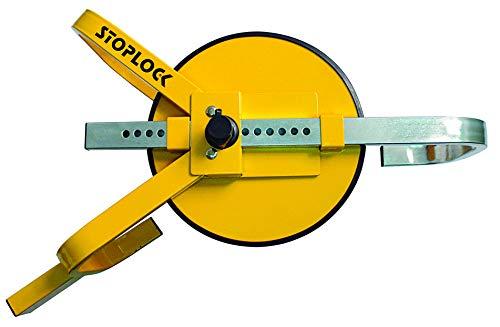 Stoplock HG 400-00 - Cepo Antirrobo para Coche, para Coches, Caravanas, Camiones y Otros Vehículos Pequeños