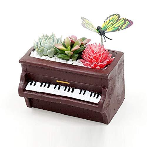 Nicole Creative - Stampo in silicone per cemento, decorazione da scrivania, per piante grasse, vaso