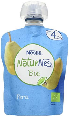 Nestlé Naturnes Bio Bolsita Puré Pera, A Partir De Los 4 Meses. Pack de 16 bolsitas 90g