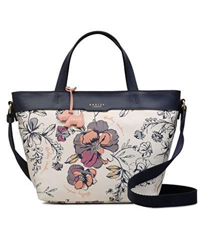 RADLEY womens H2010100 Sketchy Floral - Medium Ziptop Multiway M