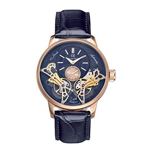 Carl von Zeyten Herren Uhr Armbanduhr Automatik Oberkirch CVZ0064RBL