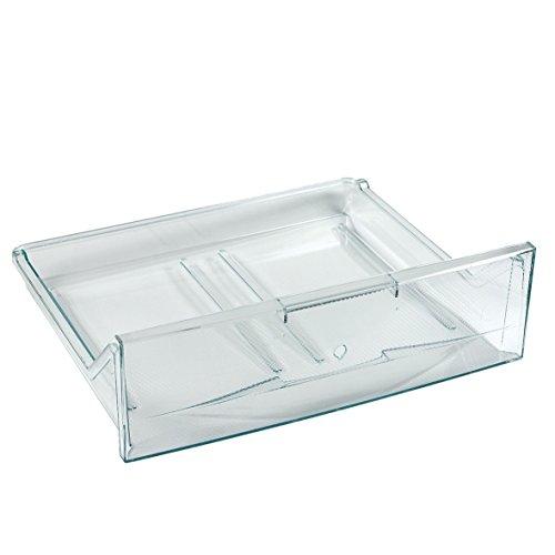 Liebherr 7427654 ORIGINAL Schublade Gefriertablett Gemüseschale Schublade Kühlfach Kühlschublade Gemüseschublade Behälter Schale Fach 453x135x384mm transparent Kühlschrank Gefrierschrank