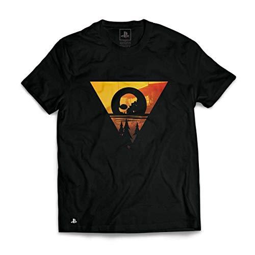 Camiseta Days Gone - Look Out/ Cor Preta / Xg Banana Geek Preto