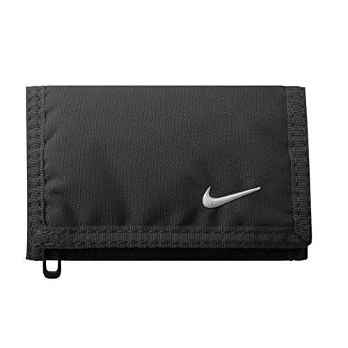Nike Basic Wallet, Portafoglio Portamonete, Colore: Bianco e Nero, Taglia Unica