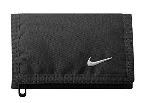 Nike Unisex-Adult NIA08068NS Travel Accessory- Bi-Fold Wallet, Black, One Size