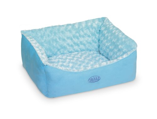 "Nobby Komfort Bett eckig ""ARUSHA"" blau L x B x H: 45 x 40 x 18 cm"