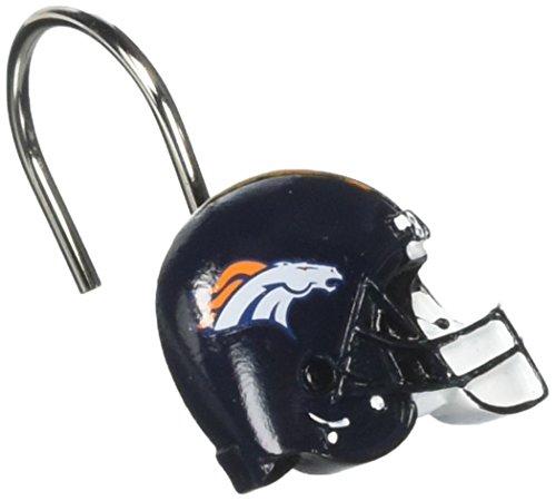 NFL Dallas Cowboys Shower Curtain Rings, 2