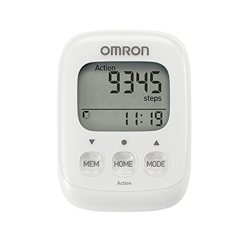 OMRON Healthcare Schrittzähler Walking Style IV, Contapassi Unisex, Bianco, Unica