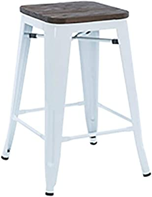 Brilliant Amazon Com Dhp Fusion Metal Backless 30 Bar Stool With Ibusinesslaw Wood Chair Design Ideas Ibusinesslaworg