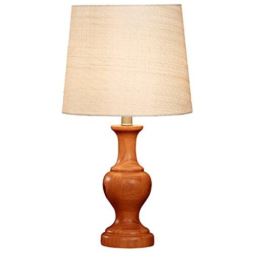 SKC Lighting-lampe de table Lampe de table chinoise en bois massif chambre à coucher salon simple moderne