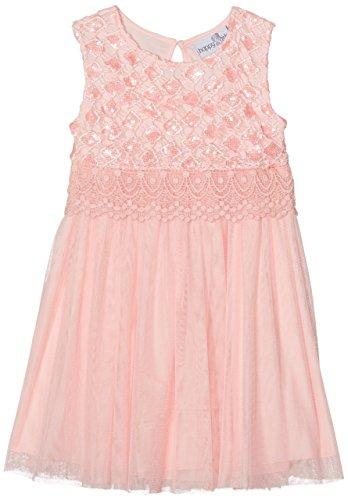 Eisend Mädchen Malina Kleid, Orange (Peach 24), 134