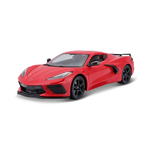 Maisto Special Edition 2020 Chevrolet Corvette C8 Stingray 1:18 Die Cast Torch Red