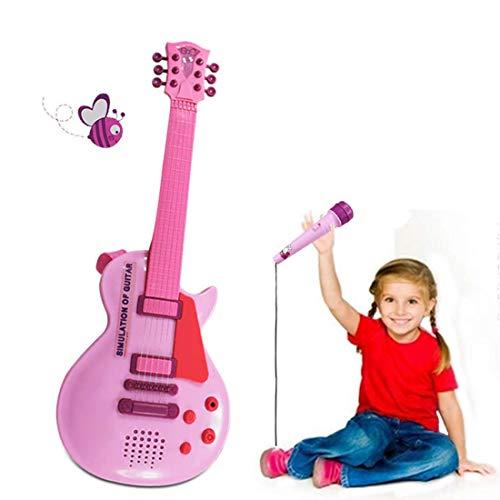 MZZYP Juguetes de Guitarra eléctrica for niños, niños electrónica Guitarra Playset Instrumentos...