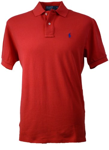 Ralph Lauren - Polo - Homme Rouge Rouge - Rouge - Rouge - XL