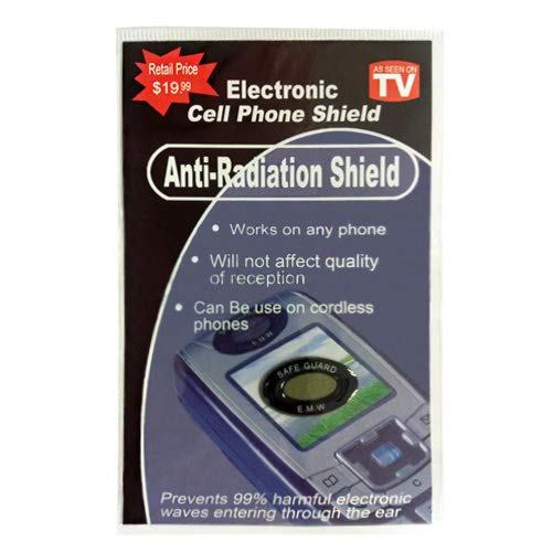 Harper Grove Cell Phone EMF Anti Radiation Protection Shield Sticker, 25 Pack, for Samsung Galaxy S4 S5 S6 S7 S8 S9 Note 5 8 9