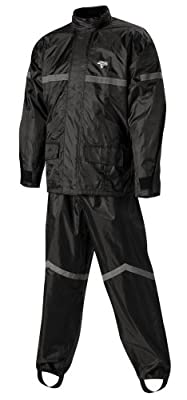 Nelson-Rigg SR-6000-BLK-04-XL Black X-Large Stormrider Motorcycle Rain Suit from Nelson-Rigg