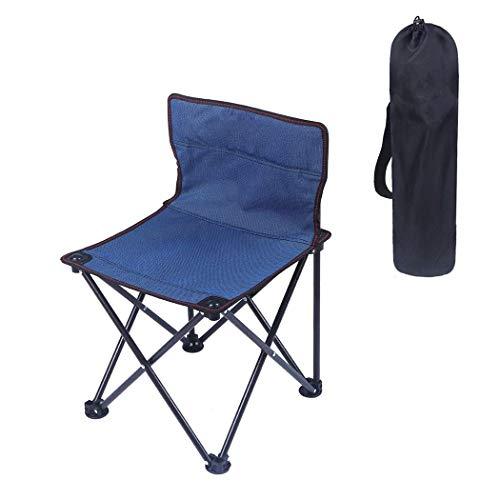 ch-AIR Chaises De Plage en Aluminium, Chaises De Camping Pliantes Portables, pour La Pêche, Le Pique-Nique, Les Voyages Et La Randonnée (Color : Deep Blue)