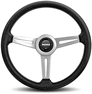 MOMO RET36BK2S Retro 360 mm Leather Steering Wheel